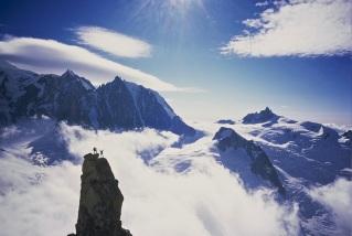 Mont Banc massif- Dent du Geant