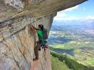 Francisco grimpe et tourne dans Natilik